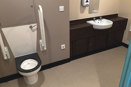 Pleasant Dementia Friendly Toilet Seats For Daisy Hill Onthecornerstone Fun Painted Chair Ideas Images Onthecornerstoneorg