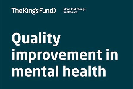 Report highlights importance of 'quality improvement'