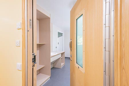 A smart choice of doorset for Kent PICU refurb