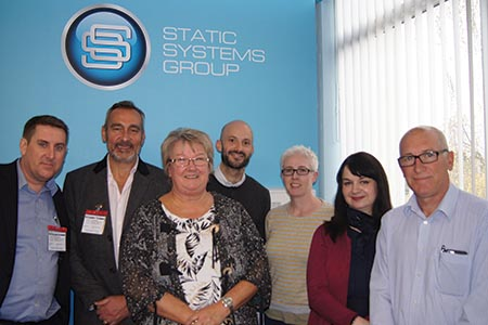 Static Systems hosts CPD visit from DiMHN Board