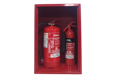 Extinguisher cabinets' positive reception